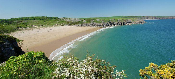 Barafundle Beach, Stackpole, Pembrokeshire