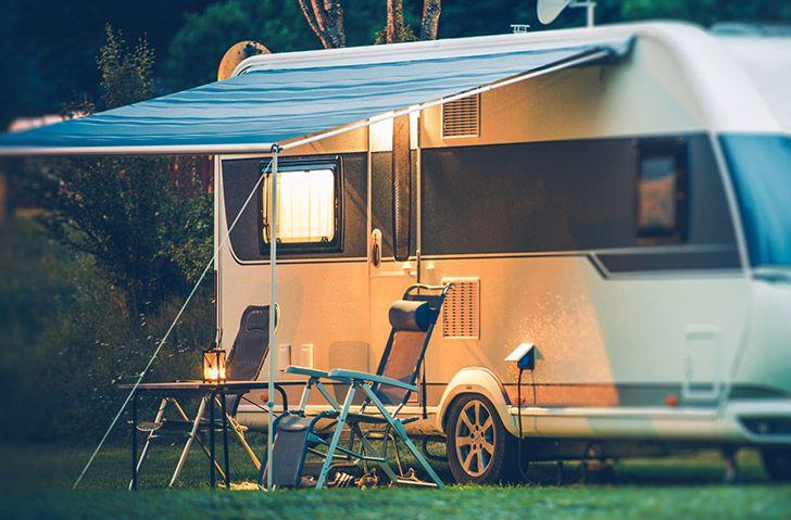 Camper and caravanning