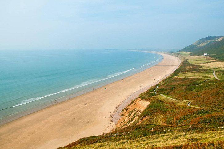 Rhossili bay, Gower Peninsula South Wales