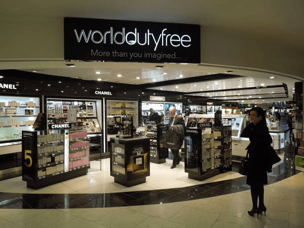 airport duty free shopping