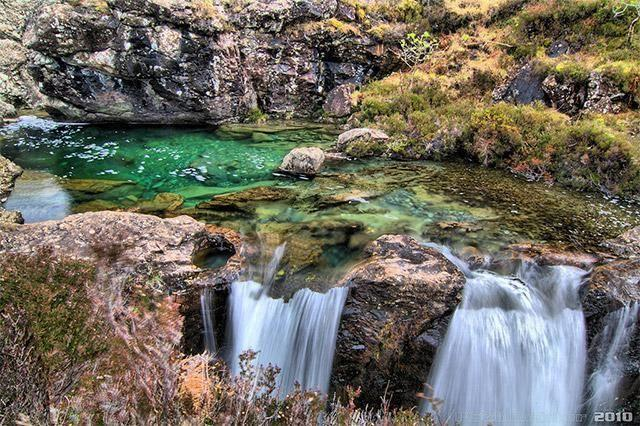 Fairy Pools in Isle of Skye
