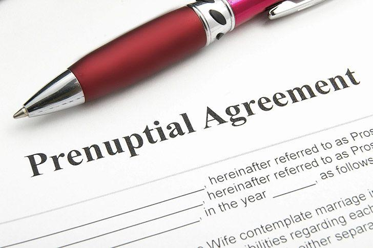 A premarital agreement