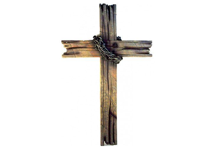 Six foot wooden cross