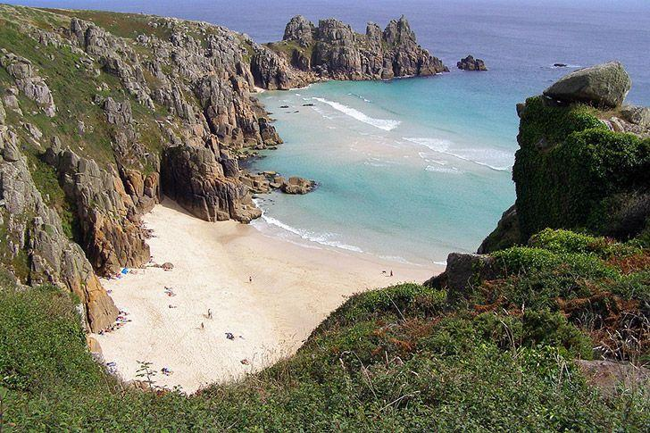 Treen beach, Cornwall