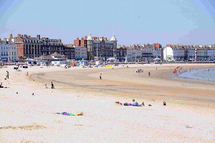 Weymouth beach, Devon